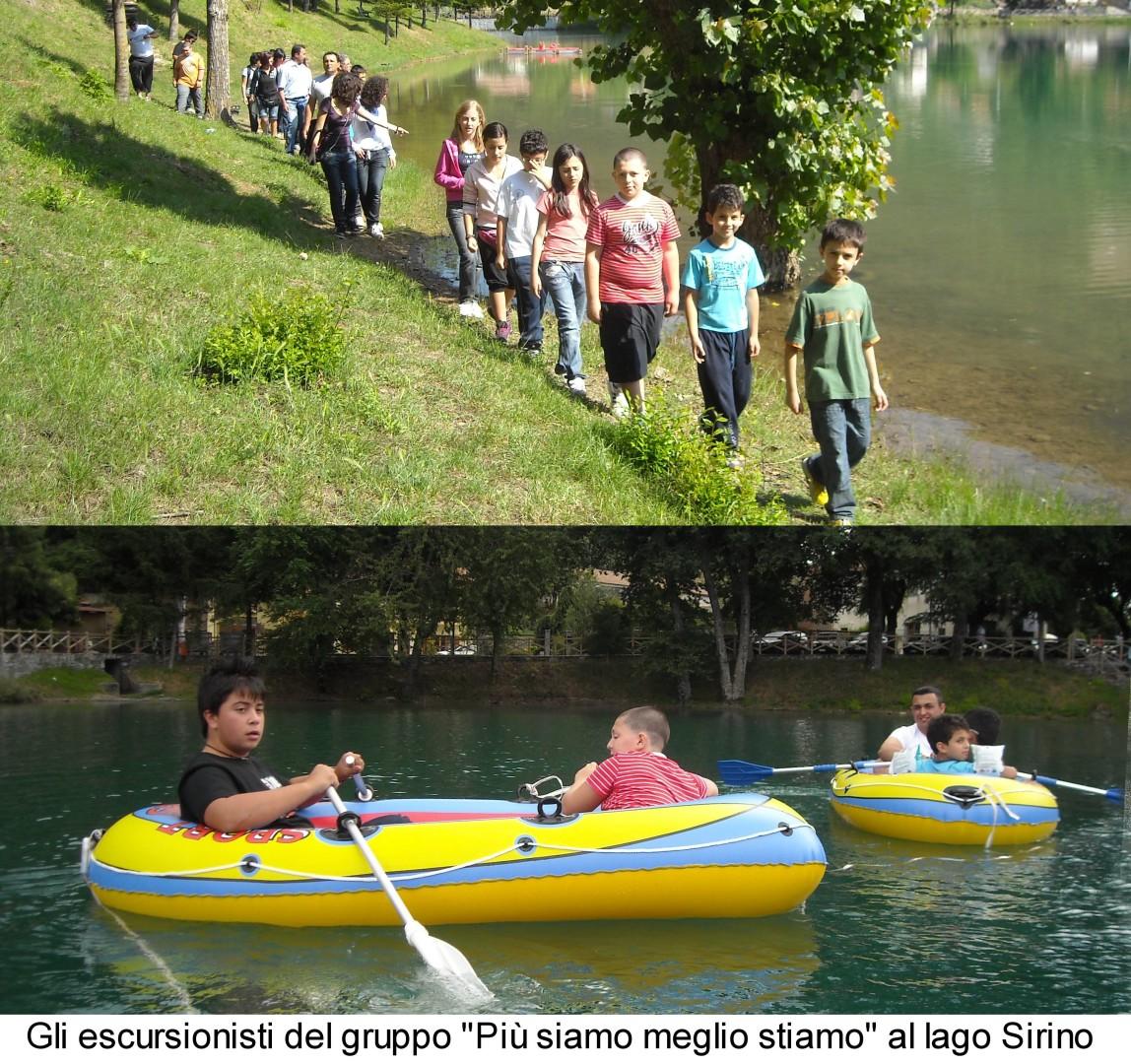 Escursione Lago Sirino