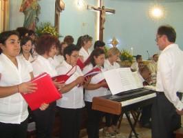 Lauria: il Maestro Molfese ed il Coro parrocchiale di Cogliandrino