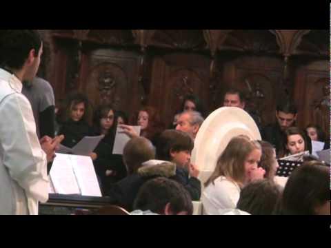 Il Maestro Silvano Marchese unisce i cori parrocchiali