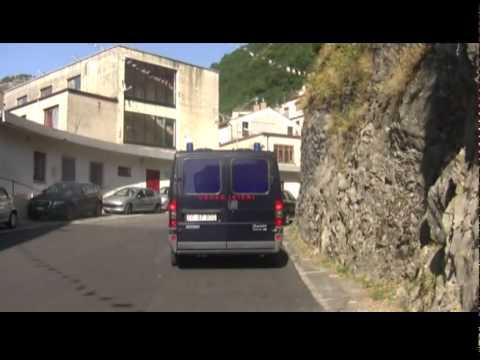 Premio Mediterraneo 2011: arrivo delle autorità al Municipio di Lauria