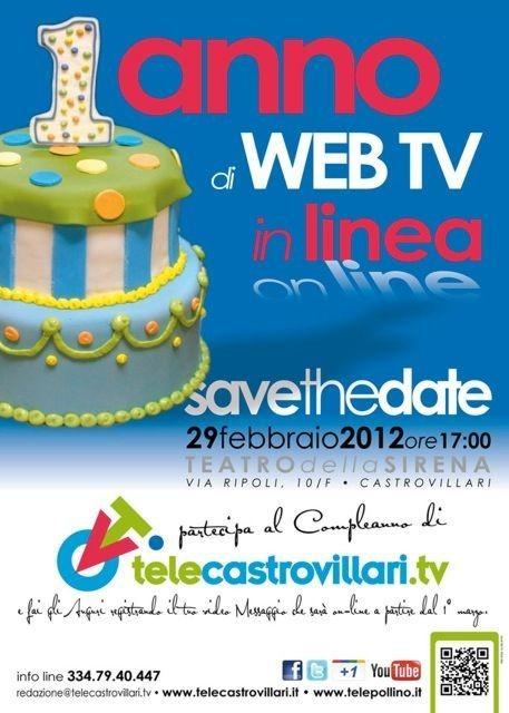 locandina save the date