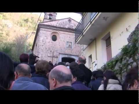 Il Vescovo Nolè  guida la Via Crucis dedicata al Beato Lentini