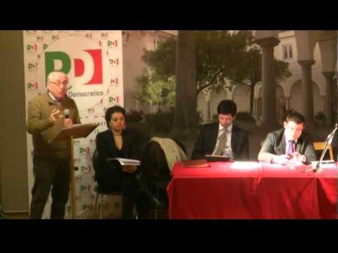 Conferenza regionale lucana del Pd a Lauria