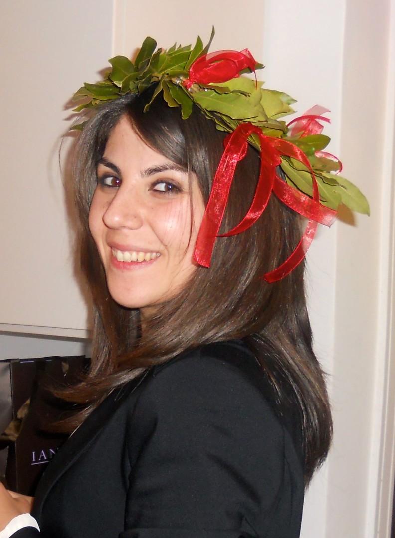 Mariangela rossino di lauria si laureata l 39 eco di for Rossino arredamenti lauria