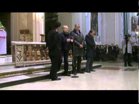 Il parroco don Vincenzo Iacovino organizza un incontro sull'emergenza furti a Lauria