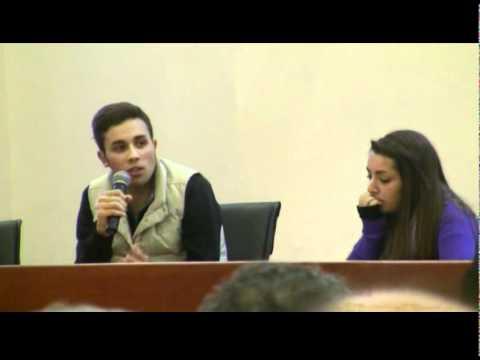 Ricordata Vladi dal'associazione  Libera e dagli studenti di Lagonegro