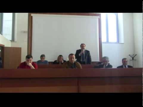 Consiglio Comunale a Lagonegro dedicato a Giuseppe Rossi  con intoppo finale