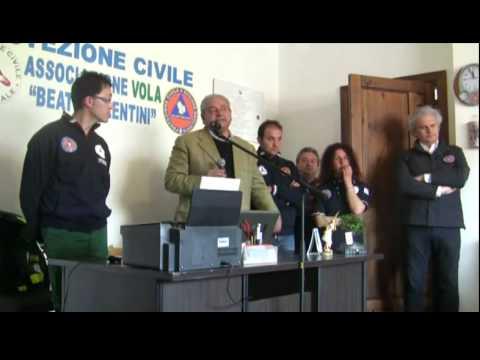 Inaugurata la sede dell'Associazione di Protezione Civile Vola a Cogliandrino di Lauria