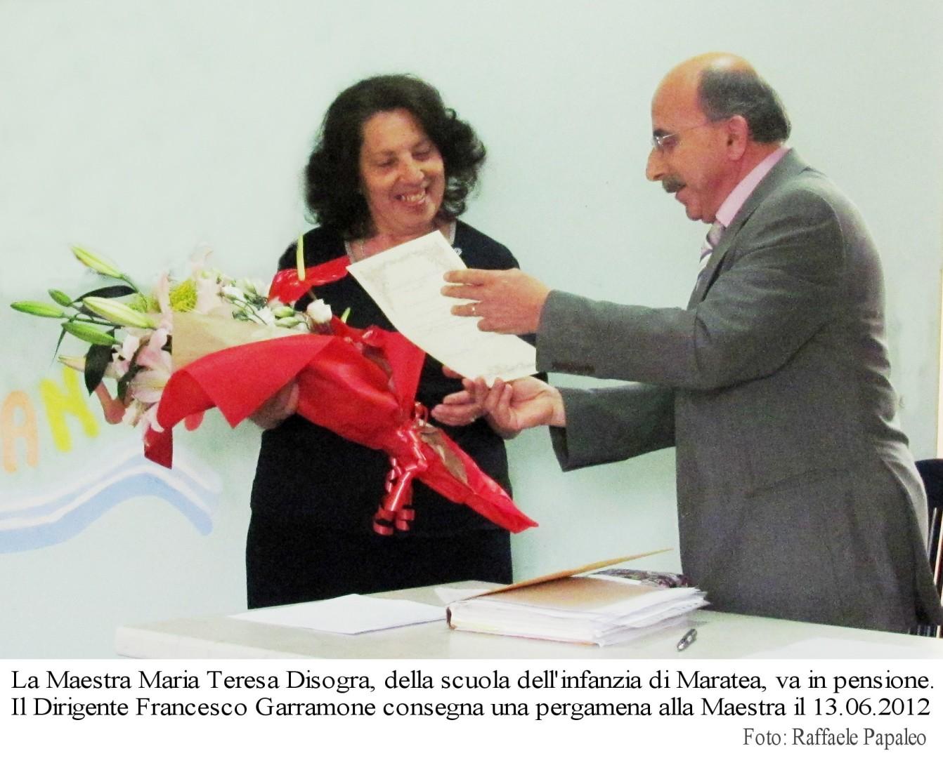 02 Maria Teresa Disogra Pensionamento