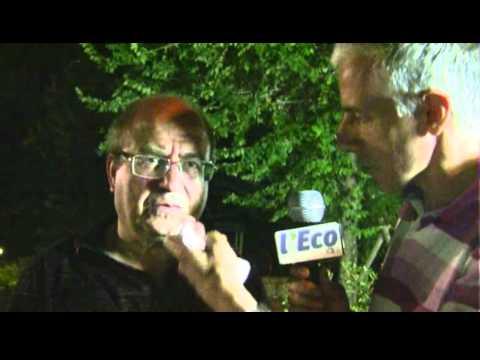Don Vincenzo Iacovino accoglie nel nome  del Lentini Don Antonio Pappalardo di Tortora