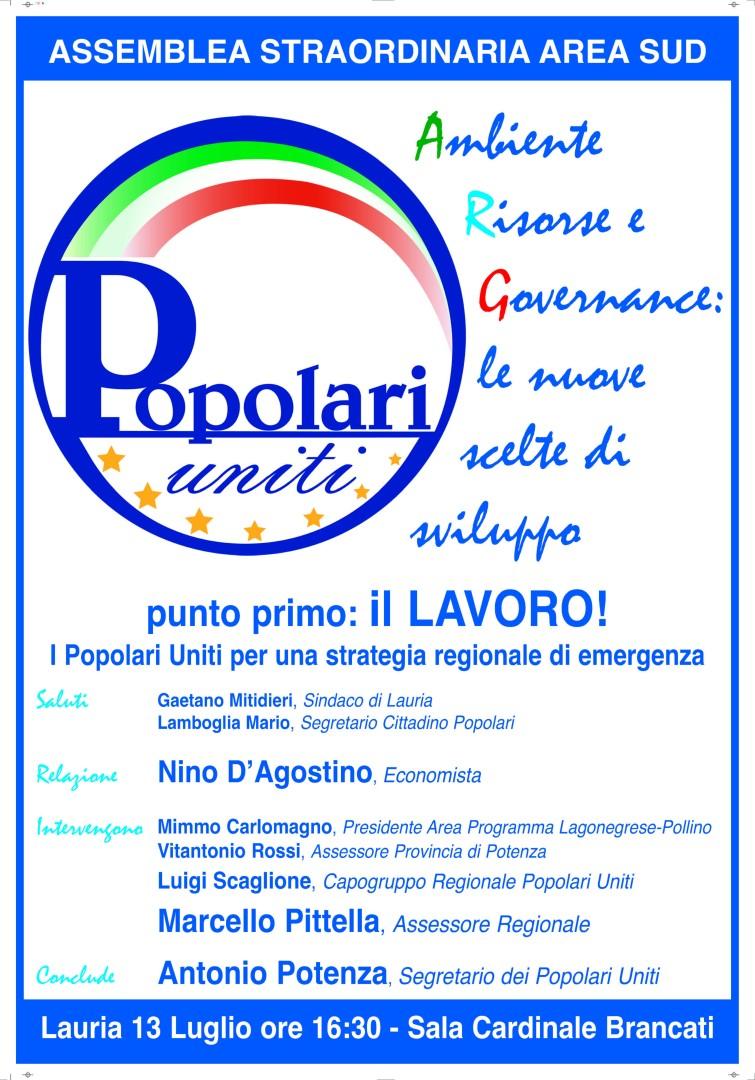assemblea Popolari 13 luglio 2012