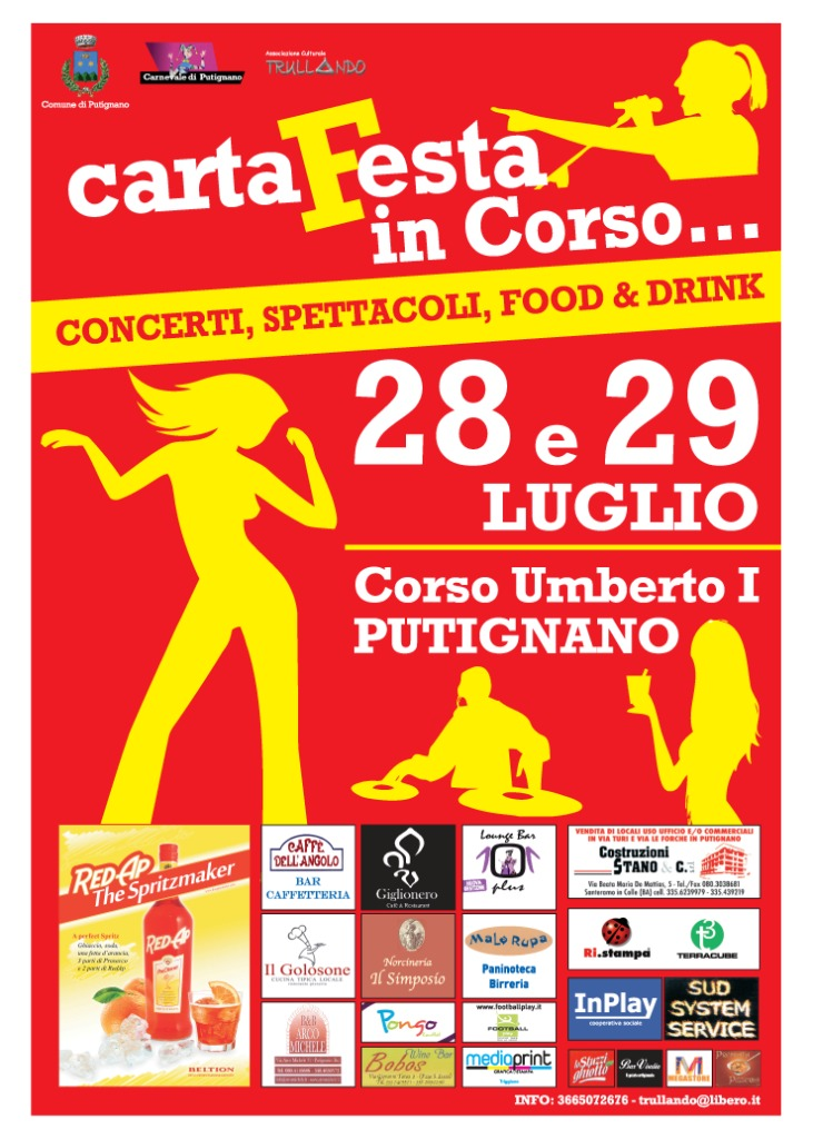 cartafesta web