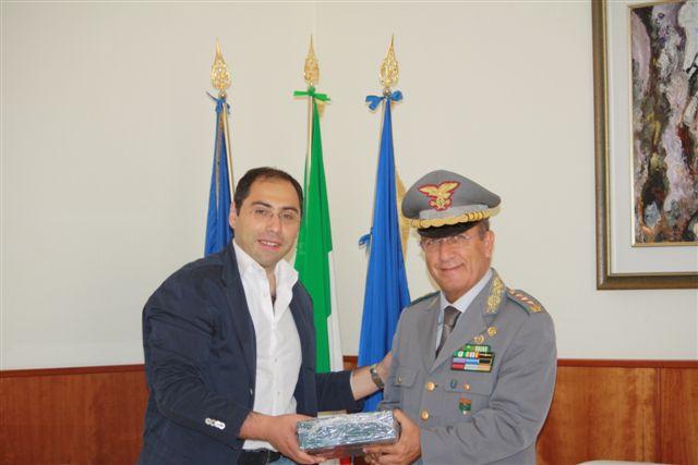 foto con generale Curcio