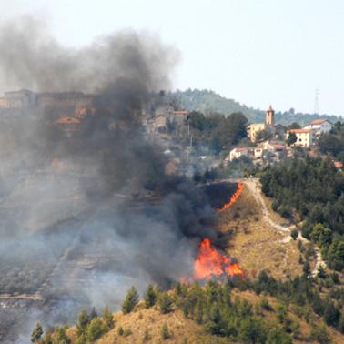 incendio Galligiano