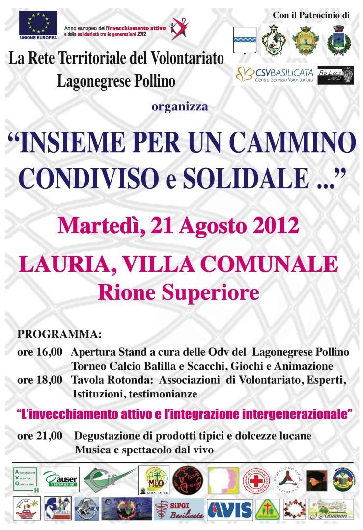 Giornata Rete Volontariato 2012