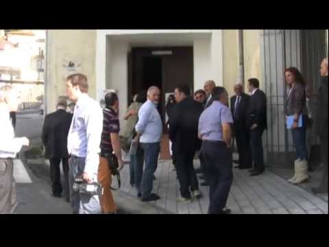 """Siglato a Lauria il """"patto"""" tra la Basilicata e l'Opera Romana Pellegrinaggi"""
