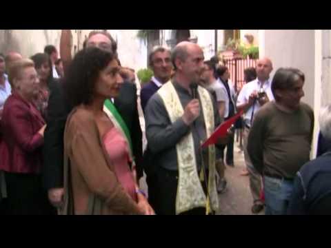 """Riapertura della cappella  della """"Candelora""""  a Lagonegro"""