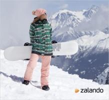 Sulla neve con Zalando