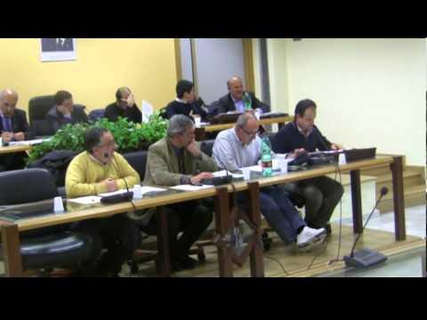 Consiglio Comunale a Lauria sull'Assestamento di Bilancio 2012