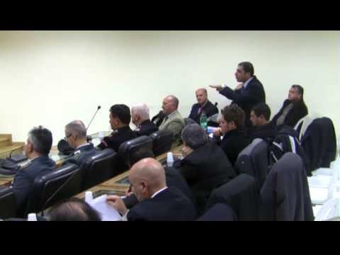 Consiglio Comunale a Lauria sulla legalità trasparenza e sull'Ambiente. Cittadinanza onararia al Capitano Salvatore d'Elia
