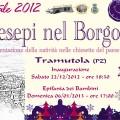 PRO LOCO TRAMUTOLA - Manifesto Presepi nel Borgo 2012