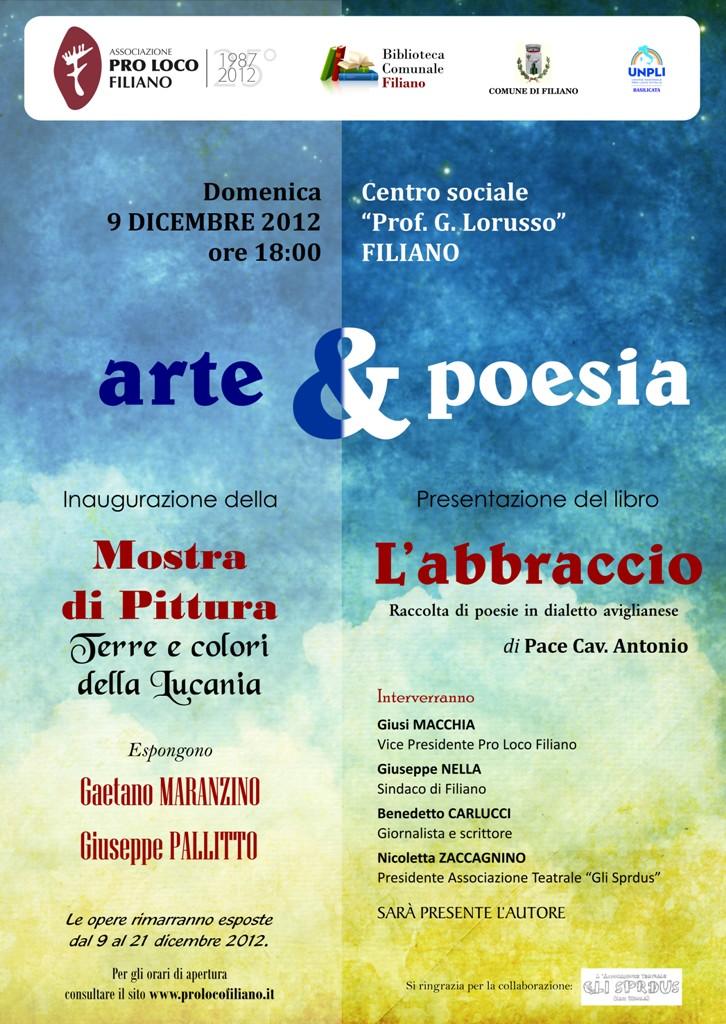 arte e poesia - locandina