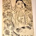 Henri Matisse, Arabesque, 1924, litografia