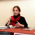 la dott.ssa D'Auria durante l'inaugurazione