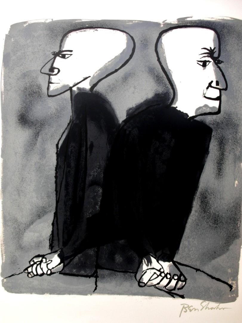 Ben Shahn, litografia per Rainer Maria Rilke
