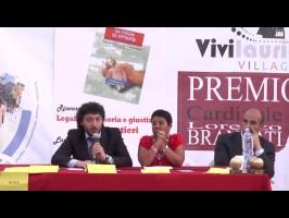 """Fabio Amendolara presenta a """"Vivilauria2013"""" il libro su Ottavia De Luise. Tributati dei riconoscimenti dedicati alla memoria di Pino Forestieri"""
