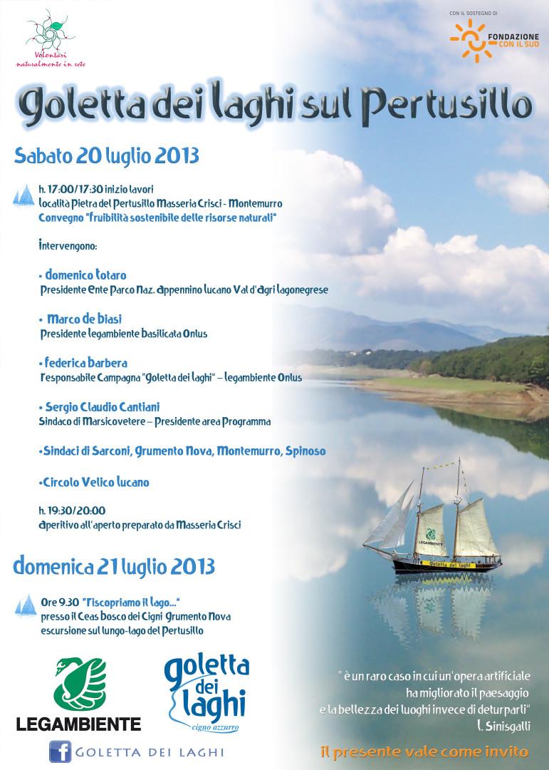 goletta dei laghi _legambiente_basilicata_invito programma_