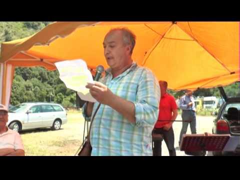 San Sago di Tortora: manifestazione per un fiume Noce  pulito