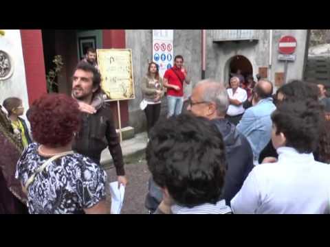 """Splendida iniziativa a Lagonegro del soldalizio """"A castagna ra critica"""""""
