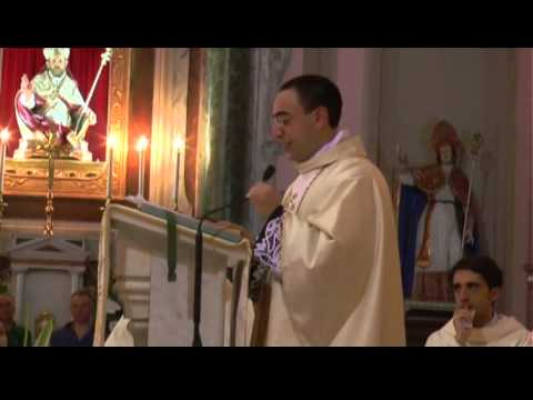 """Don Luciano Labanca è diventato prete come il suo """"vicino di casa"""" don Domenico Lentini"""