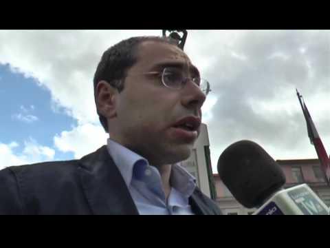 Piero Lacorazza visita Lauria in occaisoen del suo tour elettorale