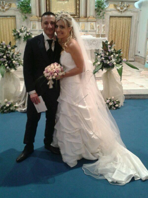 auguri FRANCESCA GESSA E IVANO TARANTINO sposi a Monterotondo