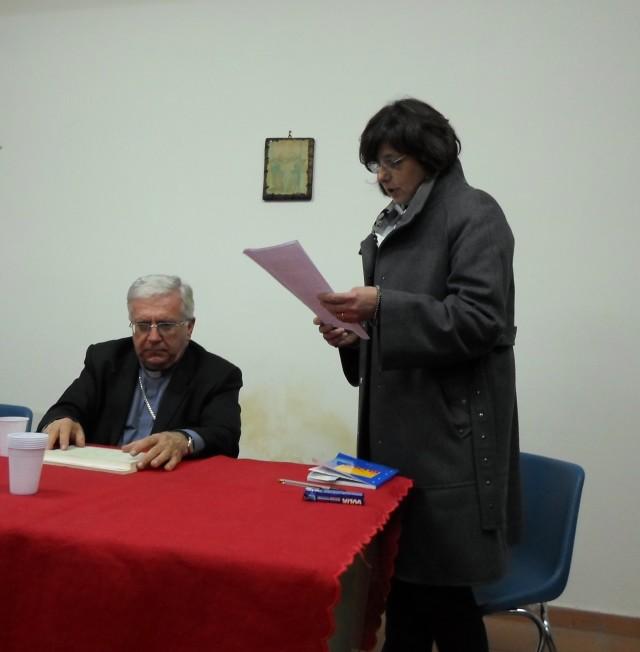 la Presidente Rosa Lioi