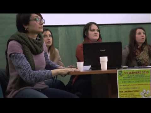 Panico durante la presentazione di un progetto  di volontariato a Castelluccio Inferiore