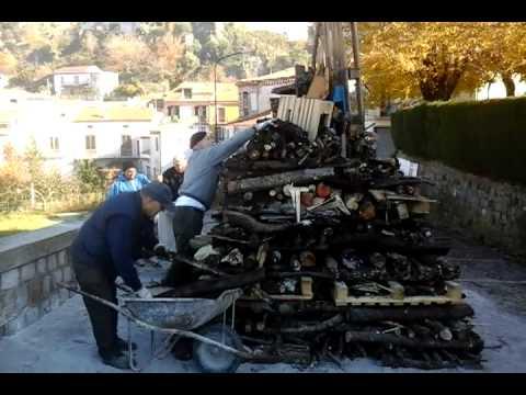 Si rinnova il fuoco dell'Immacolata a Lauria nel quartiere Sanseverino