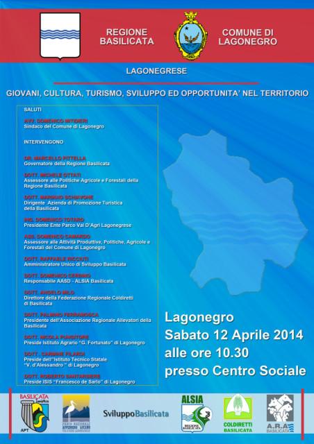 Locandina - Evento 12 Aprile 2014
