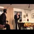 """Splendida interpretazione dei giovani di Trecchina del testo di De Filippo """"Le bugie hanno le gambe lunghe"""""""