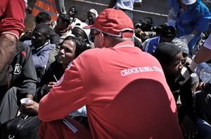 foto archivio emergenza migranti 2