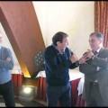 Michele De Clemente festeggiato dai colleghi Enel