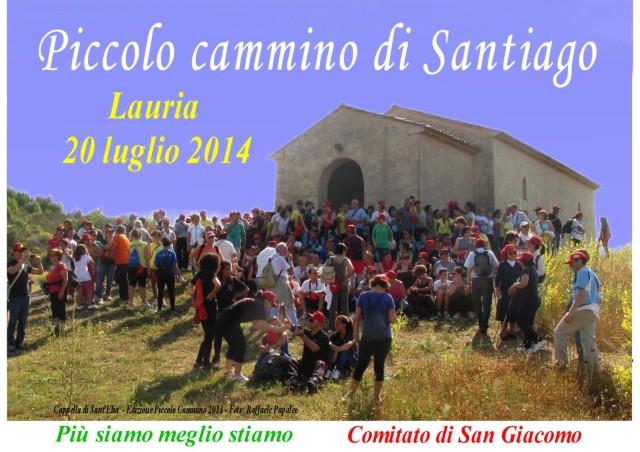 01 Piccolo Cammino Santiago Lauria 2014 PROGRAMMA per web_1