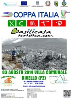Gara nazionale di montain bike a Rivello