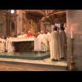 Cerimonia in onore di mons. Vincenzo Cozzi nella magnifica cattedrale di Melfi. Presenti anche una folta rappresentanza di trecchinesi