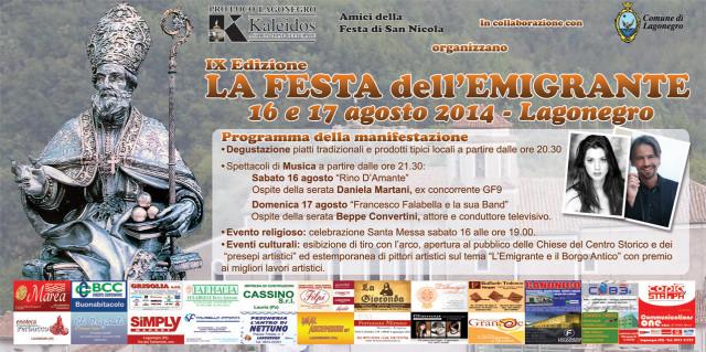Festa dell'Emigrante2014_IXedizione_16-17.08.2014