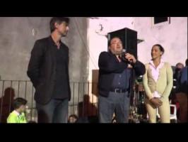 Nona edizione della Festa degli Emigranti a Lagonegro. Testimonial dell'evento di Kaleidos Beppe Convertini