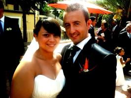 Francesco Labanca e Barbara Fittipaldi si sono sposati