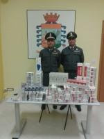 Guardia di Finanza Lauria, contrabbando tabacchi lavorati esteri. sequestrati oltre 20 kg di sigarette. Denunciato a piede libero un responsabile